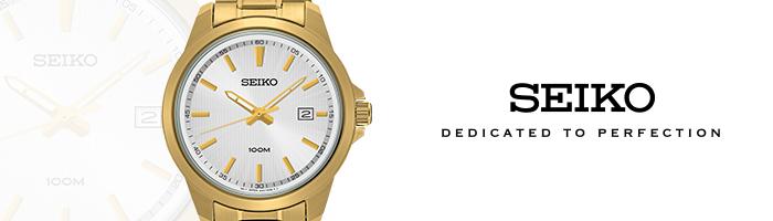 Seiko Goudkleurige horloges voor mannen