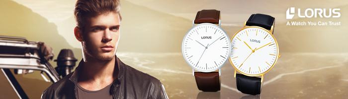 Lorus goud- en zilverkleurige horloges
