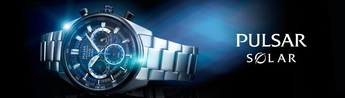 Pulsar titanium herenhorloges
