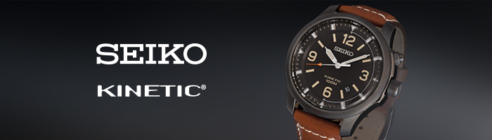 Seiko Kinetic Herenhorloges
