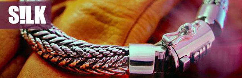 Silk Jewellery Armbanden 'Ganesha' lijn