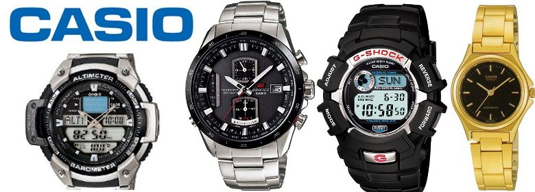 Casio horloges 'Collection en Retro'