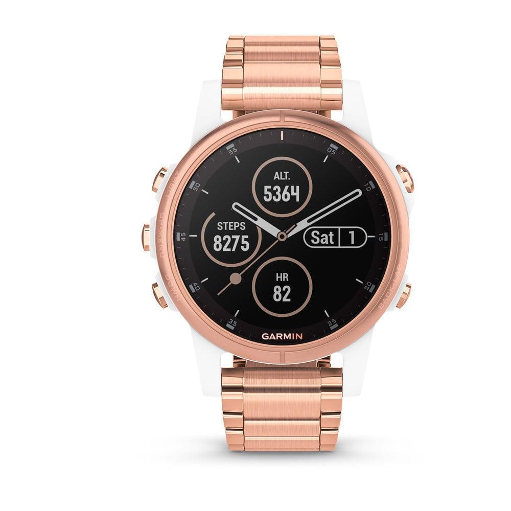 Garmin 010-01987-11 Fenix 5S PLUS Multisport GPS Smartwatch