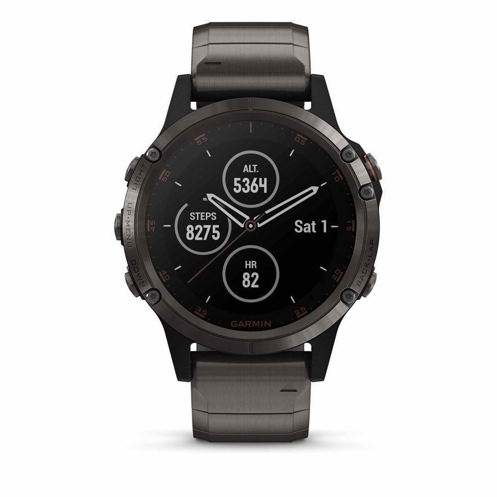 Garmin 010-01988-03 Fenix 5 PLUS Multisport GPS Smartwatch