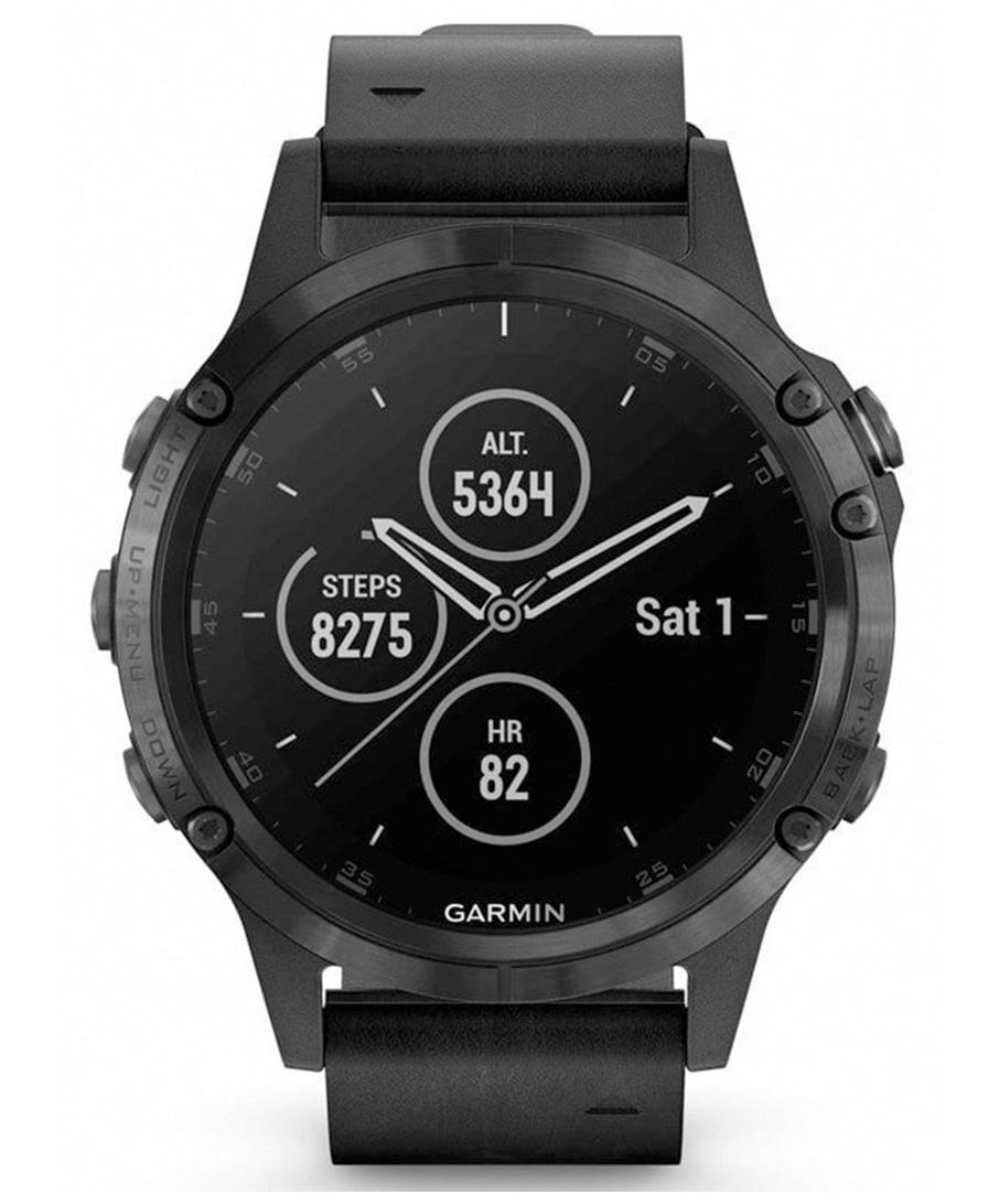 Garmin 010-01988-07 Fenix 5 PLUS Multisport GPS Smartwatch
