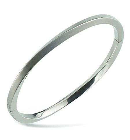 Boccia Armband Titanium zilverkleurig 03011-01