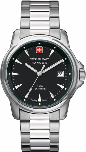 Swiss Military Hanowa 06-5230.04.007 horloge Swiss Recruit Prime 39 mm