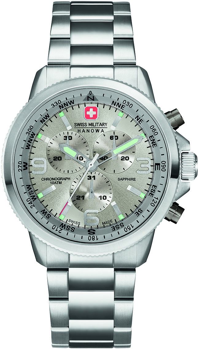 Swiss Military Hanowa Horloge 'Arrow' Chrono Steel 06-5250.04.009