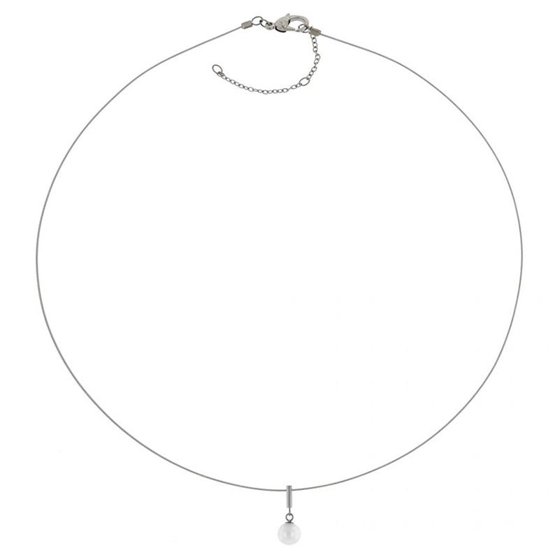 Boccia 08036 01 Ketting Parel Titanium Staal zilverkleurig 44 49 cm