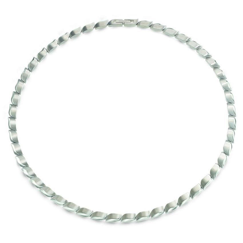 Boccia 08038 01 Ketting Titanium zilverkleurig 45 cm