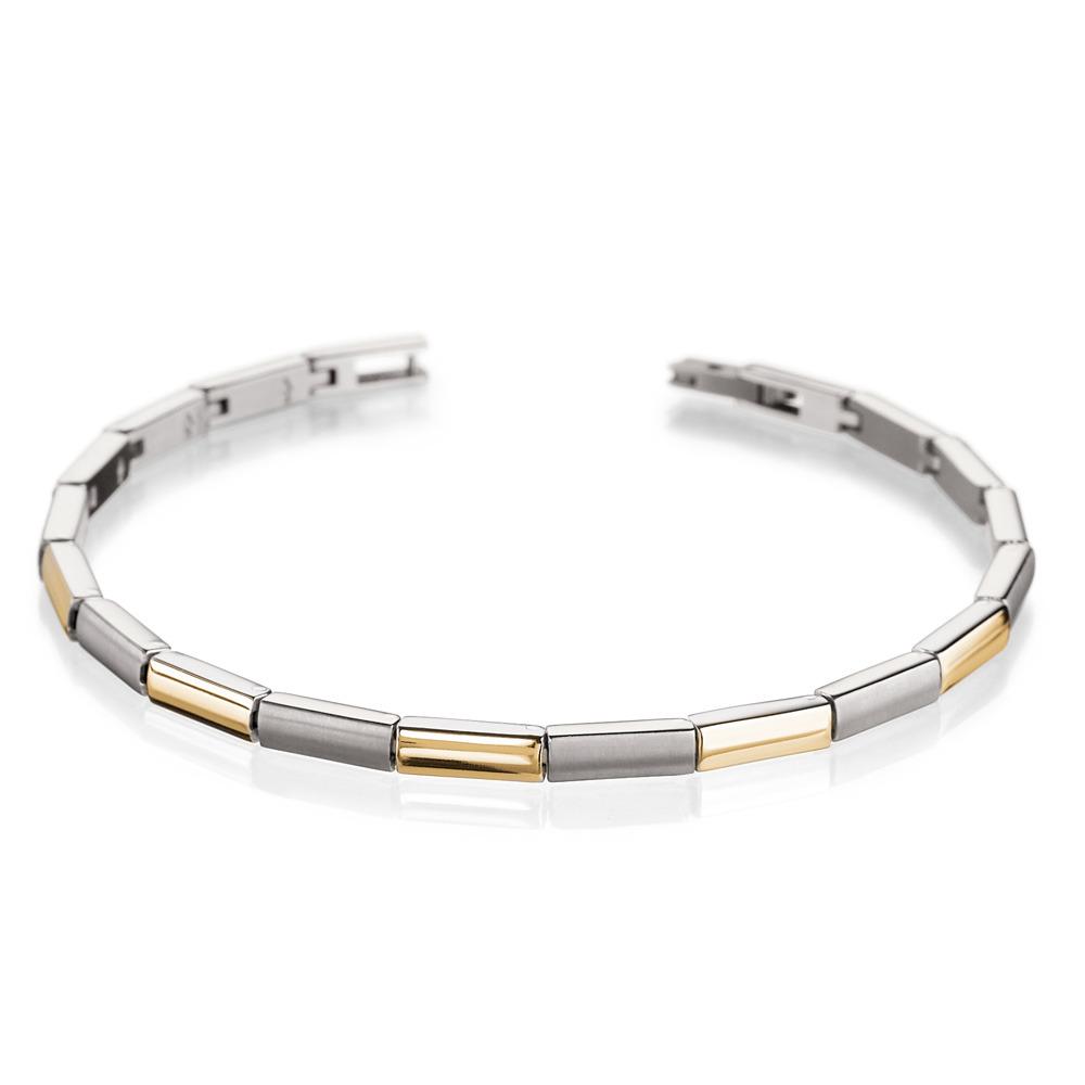 Boccia 0387-02 Vergulde titanium armband