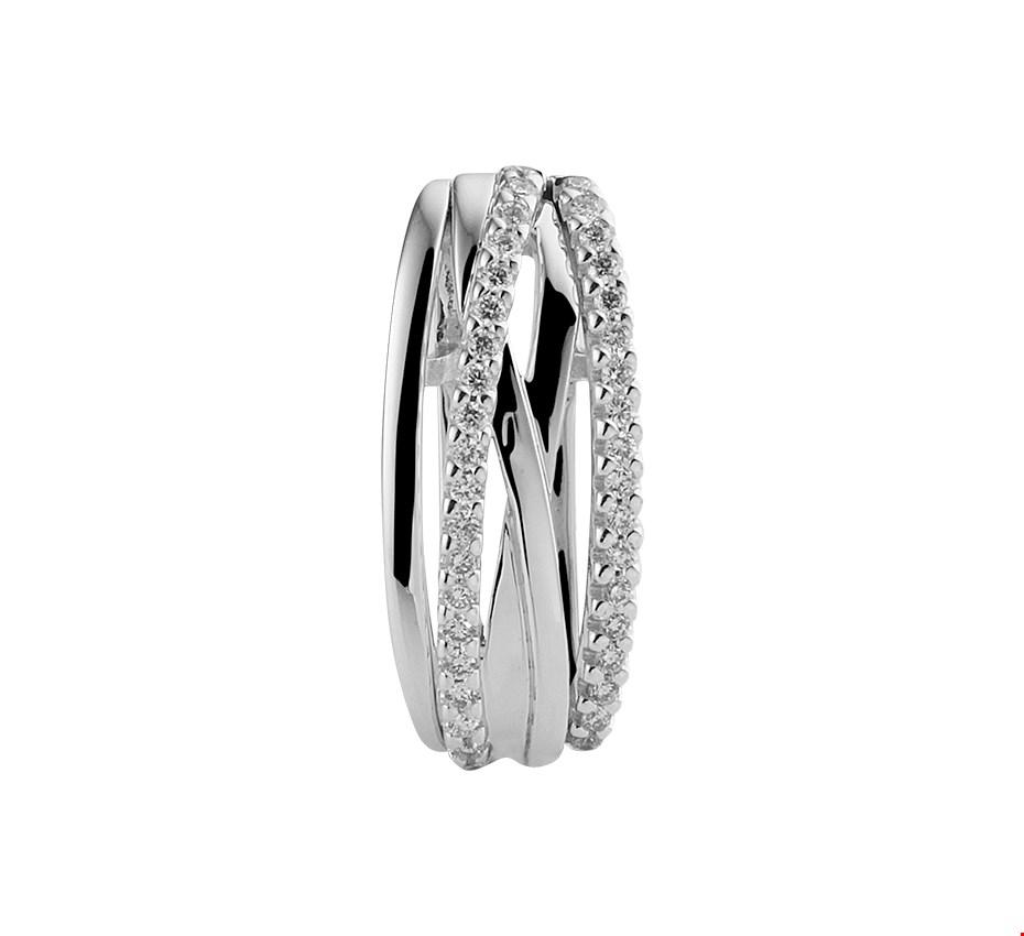 TFT Hanger Witgoud Diamant 0.17ct H SI