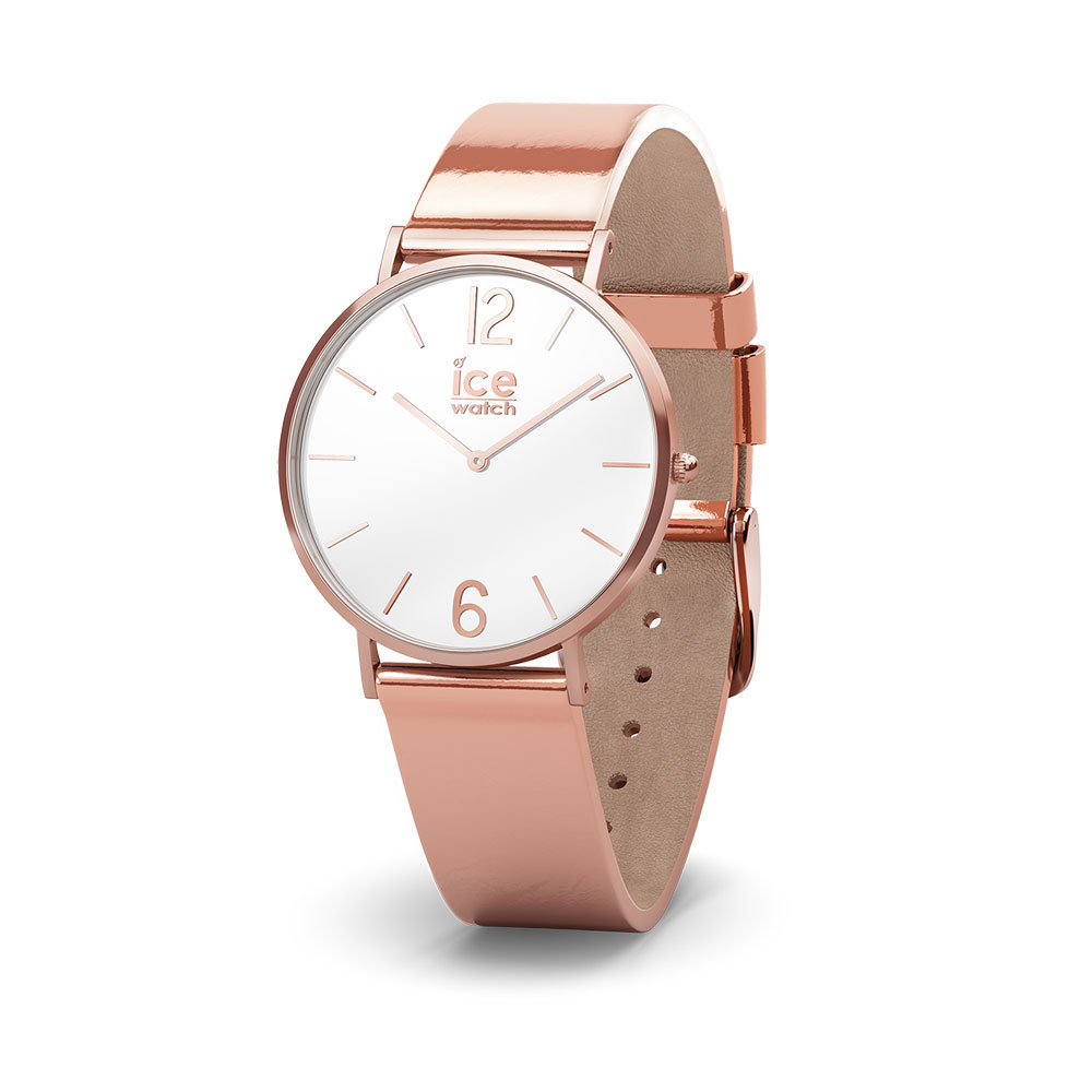 Ice-Watch IW015091 ICE City Sparkling - Glitter - Metal - Rosegold - Small horloge