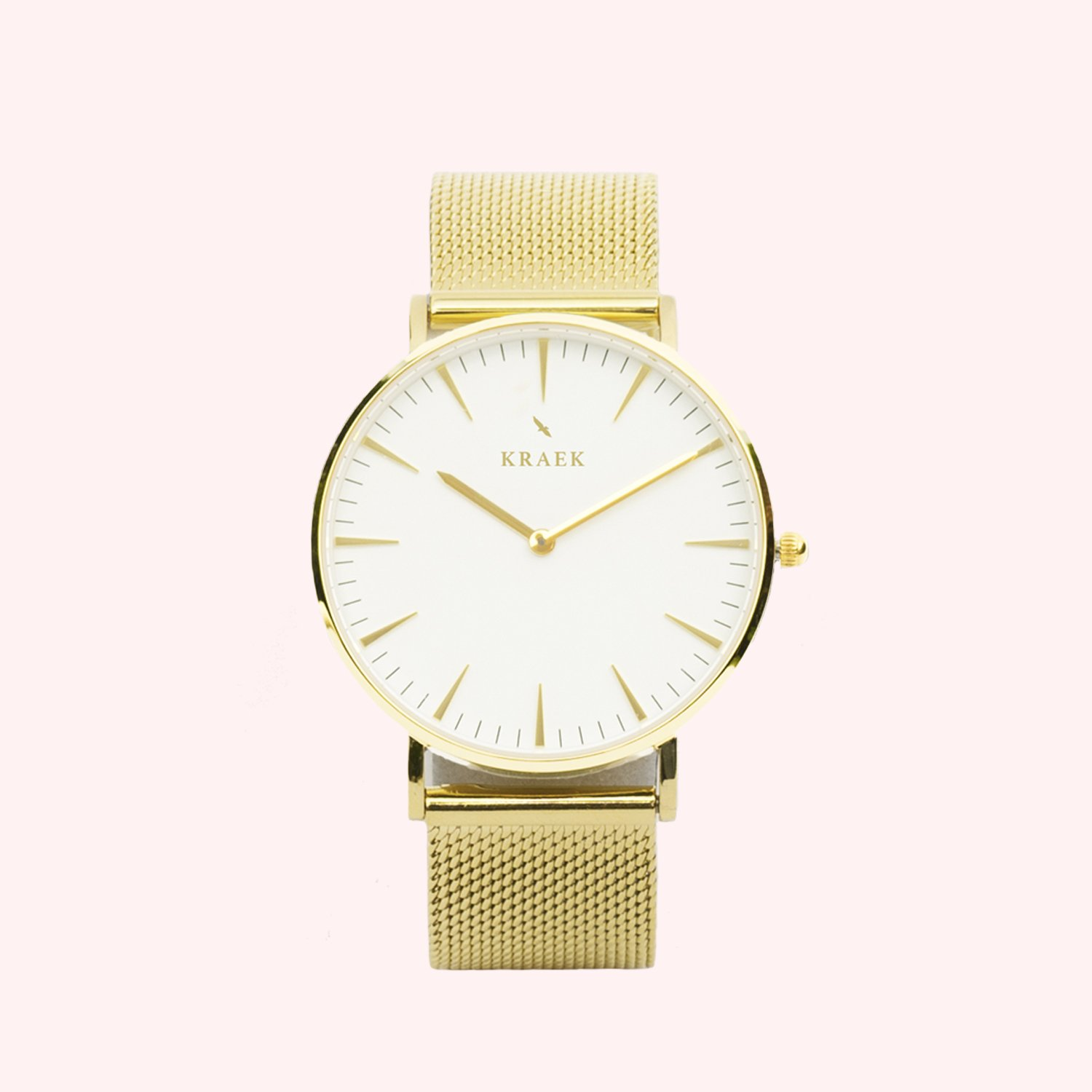 KRAEK Jae | Gold | Mesh 36 mm Dameshorloge