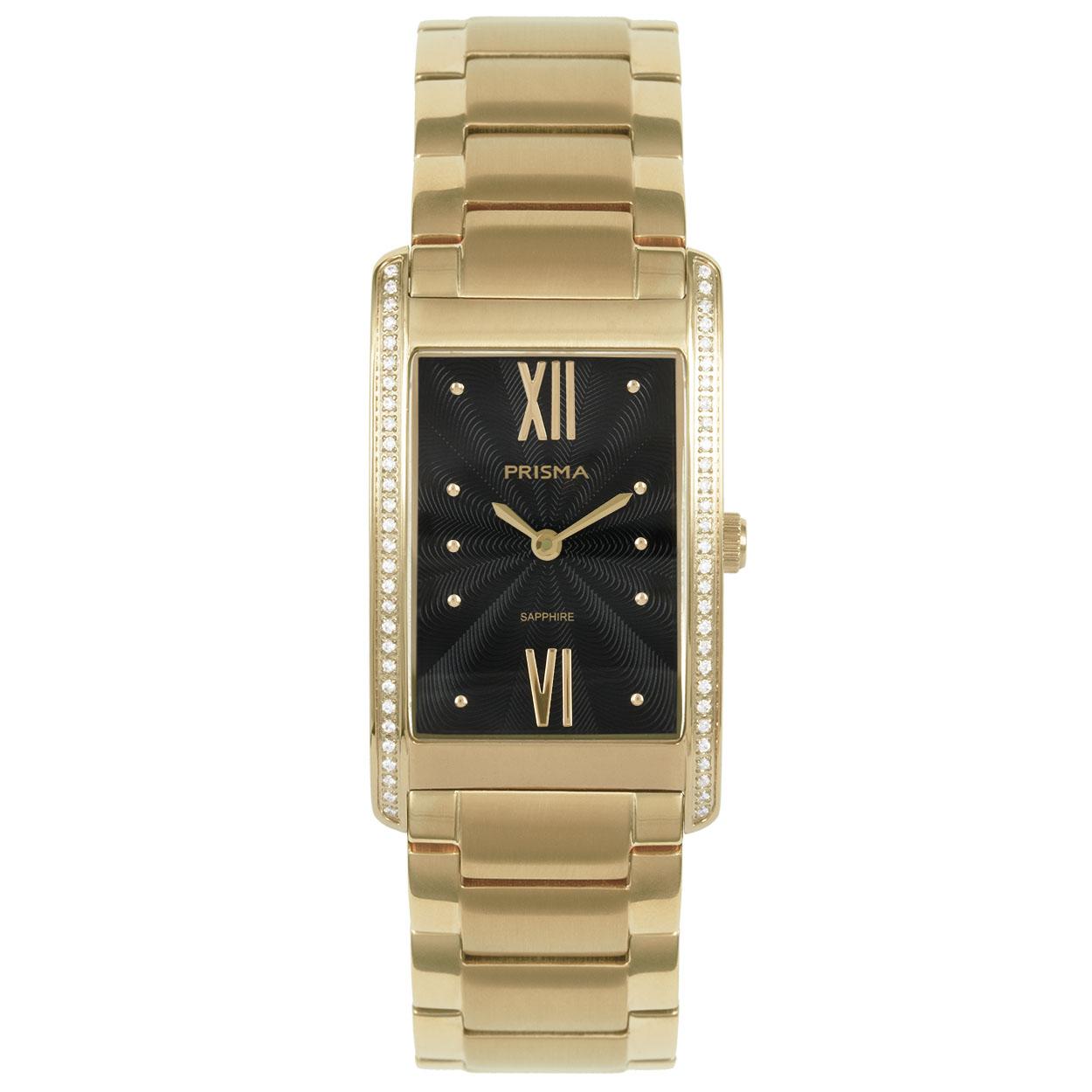 Prisma Dames Precise Zirconia Horloge P.1957