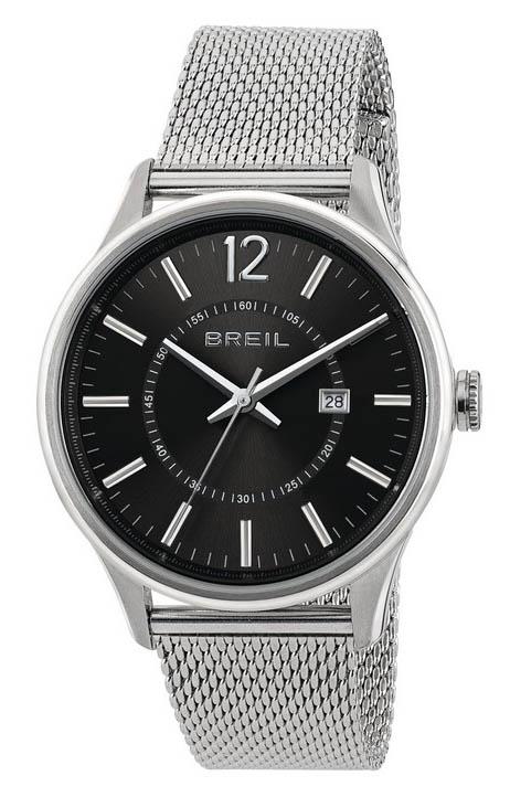 Breil Horloge Contempo Staal/Mesh zilverkleurig TW1647