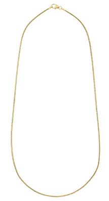 Glow Gouden Lengtecollier Slang 1.2 Mm 201.2001.45