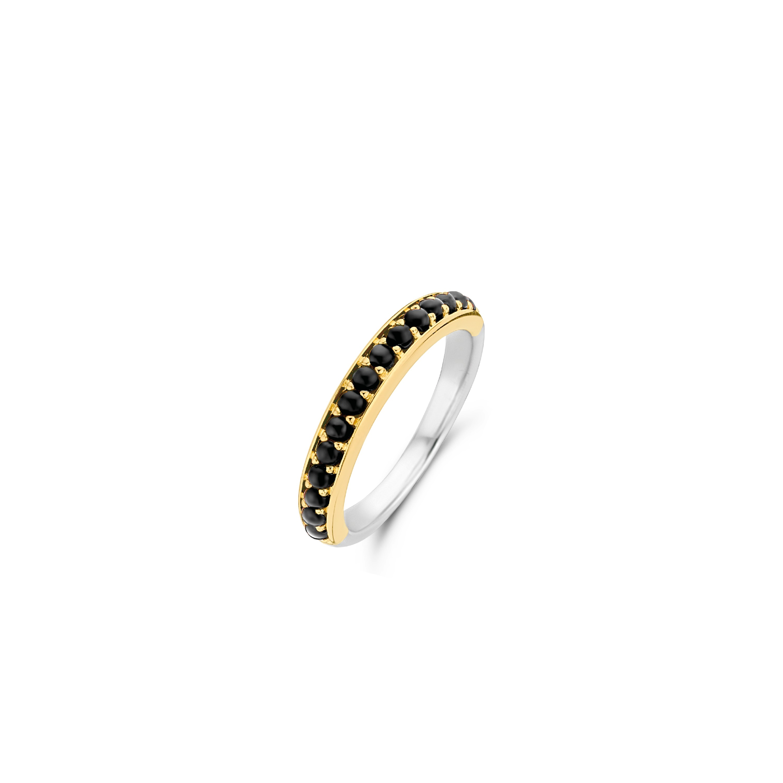 TI SENTO Milano Ring 12123BO Zilver gold plated Maat 60