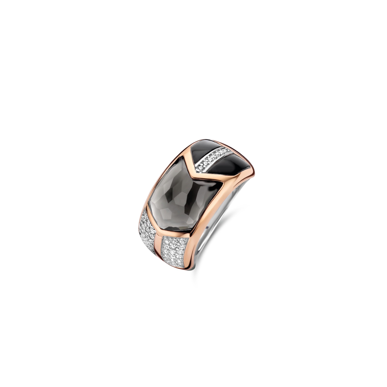 TI SENTO Milano Ring 12204GB Zilver rose plated Maat 60