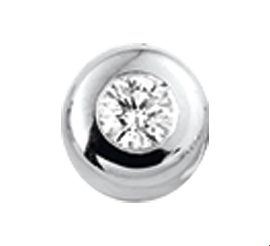 TFT Hanger Witgoud Diamant 0.010 Ct.