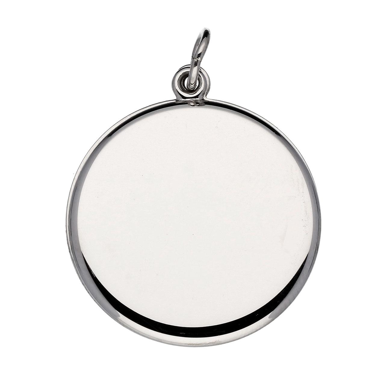 Lifetime Love Zilveren Hanger Medaillon Rond 22 mm 145.0120.00