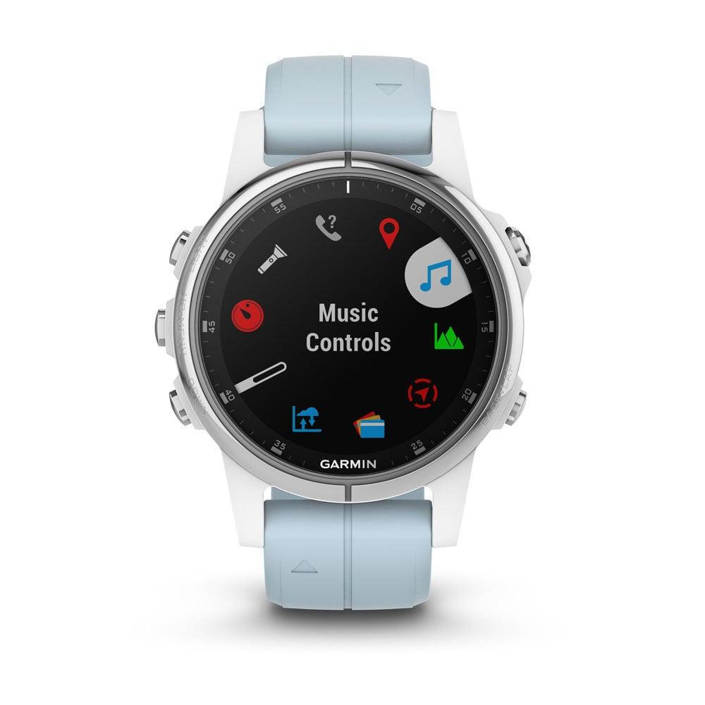 Garmin 010-01987-23 Fenix 5S PLUS Multisport GPS Smartwatch