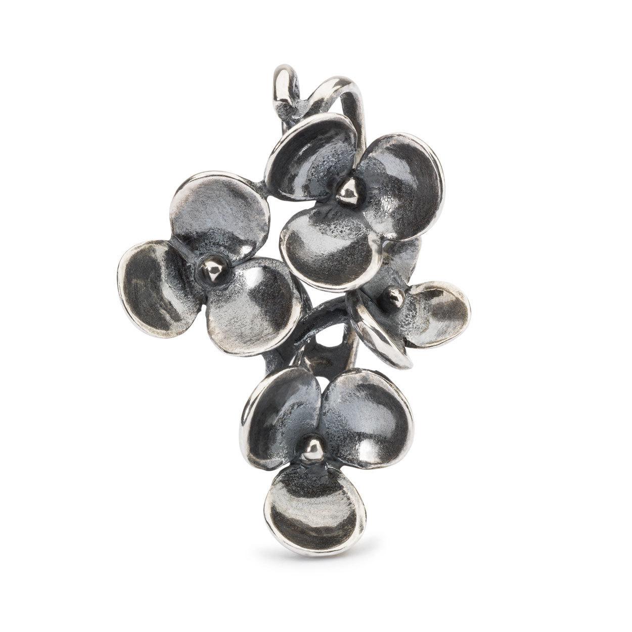 Trollbeads TAGPE 00070 Hanger Bloeiend pijlkruid zilver
