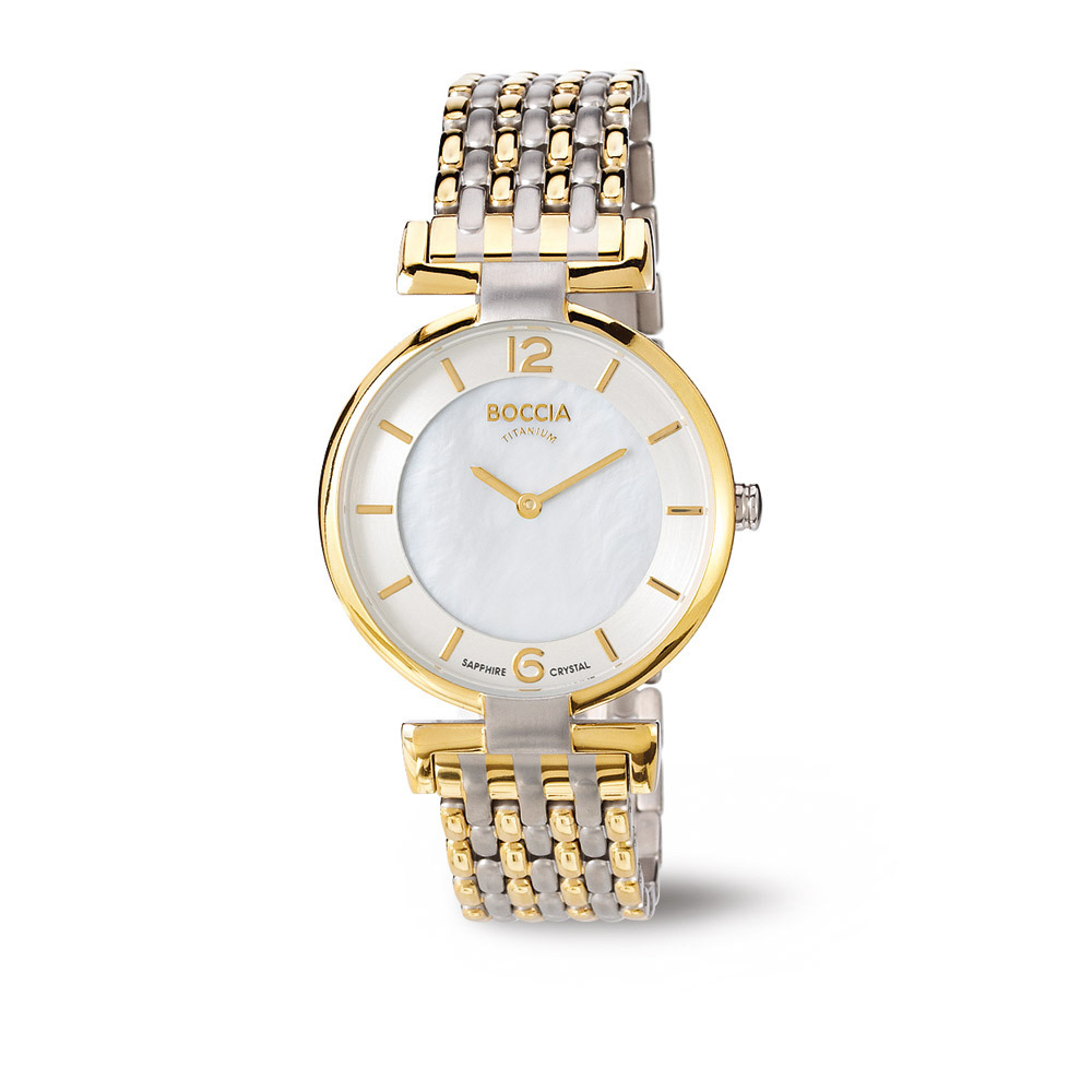 Boccia 3238-04 horloge