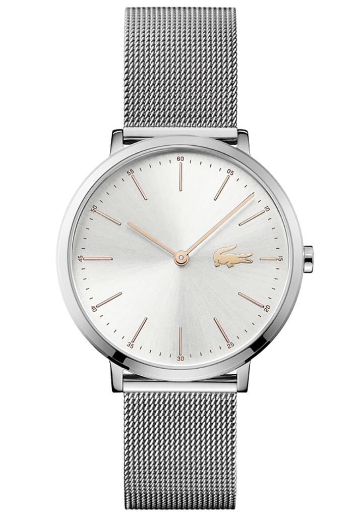 Lacoste LC2000987 Horloge zilverkleurige wijzerplaat 35 mm
