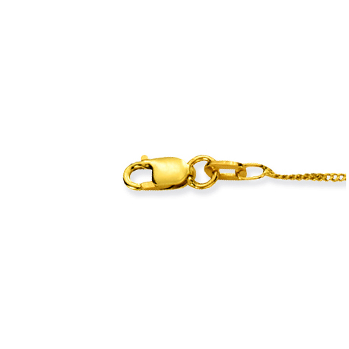 Glow Gouden Ketting Gourmet 38 cm 1 mm breed 201.0138.15