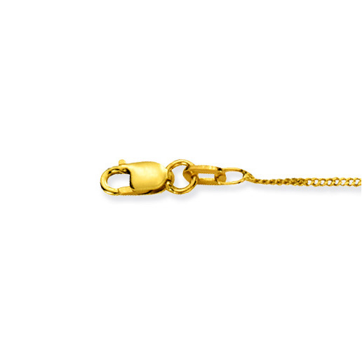 Glow Gouden Ketting Gourmet 38 cm 1 mm breed 201.0138.17