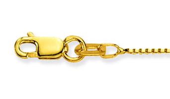 Glow Gouden Ketting Venetiaans 38 cm 0.8 mm 201.1038.21