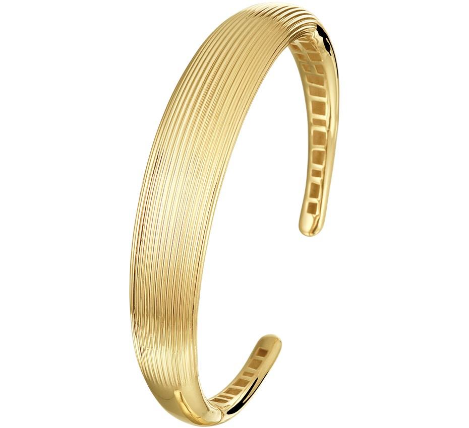 TFT Armband Goud Spang Gediamanteerd 12,5 X 62