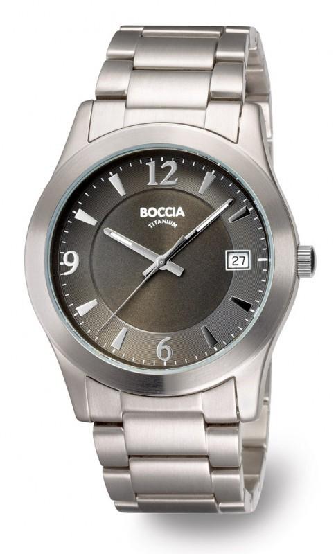 Boccia 3550-02 Heren horloge