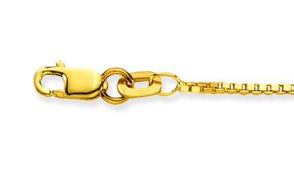 Glow Gouden Lengtecollier Venetiaans 1.1 Mm 201.1238.36