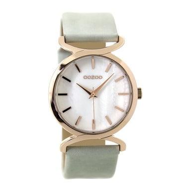 OOZOO C9527 Horloge Timepieces Collection rosekleurig-mint 38 mm