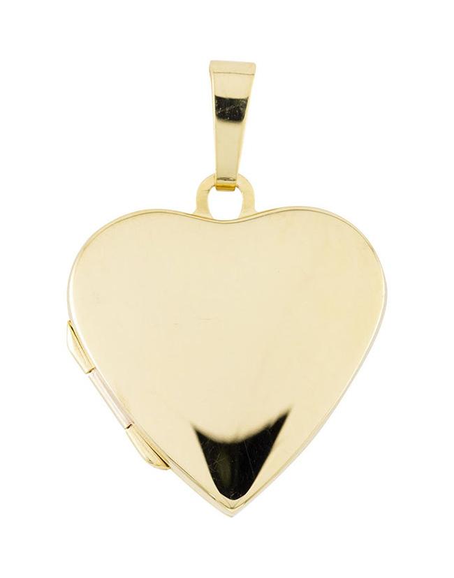 Glow Gouden Medaillon 'Hart' 20 x 29 mm 245.0093.00