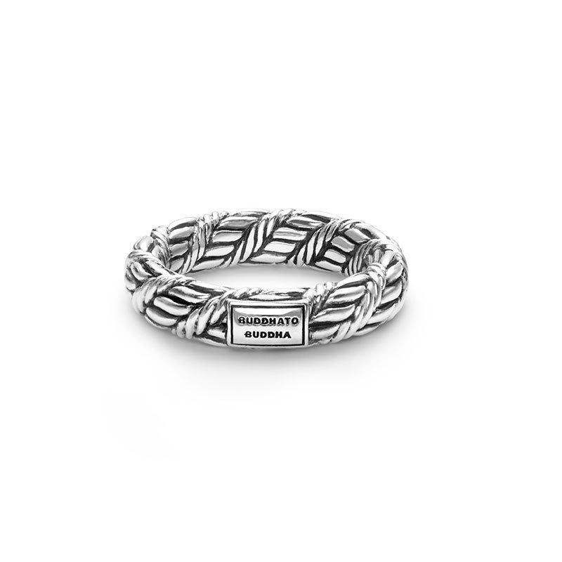 Buddha to Buddha 102 Ring Ketut zilver Maat 18