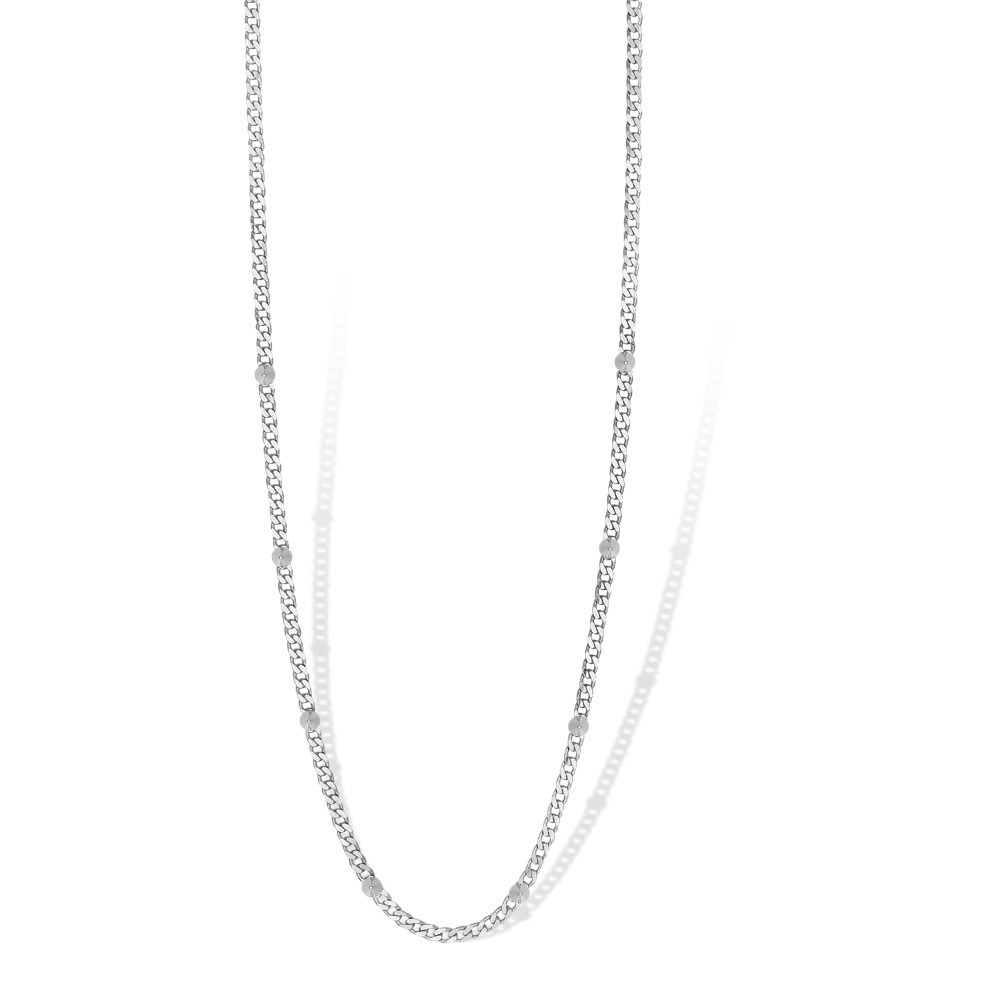 Mi Moneda NEC-01-SPI Necklace Spike Silver