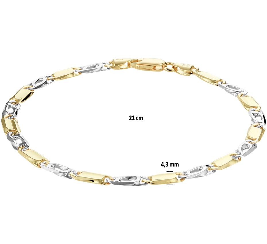 TFT Armband Valkenoog 4,3 Mm 21 Cm
