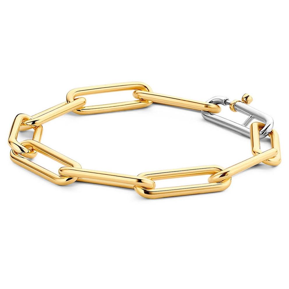 TI SENTO Milano 2926SY Armband zilver en goudkleurig 20 cm
