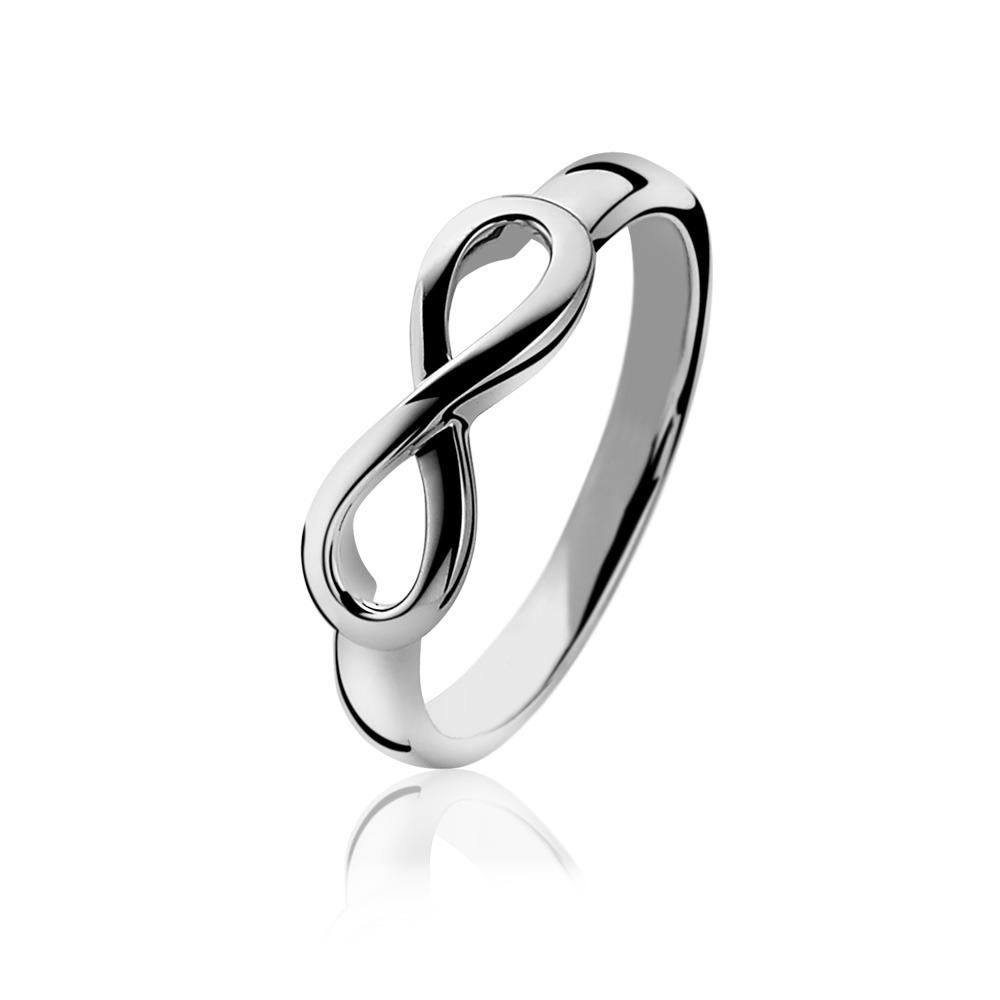 Zinzi ZIR1065 Ring Infinity zilver Maat 54