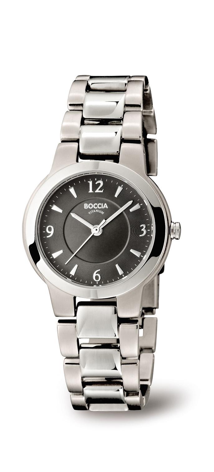 Boccia Titanium 3175.02 horloge Titanium Zilverkleurig 29 mm