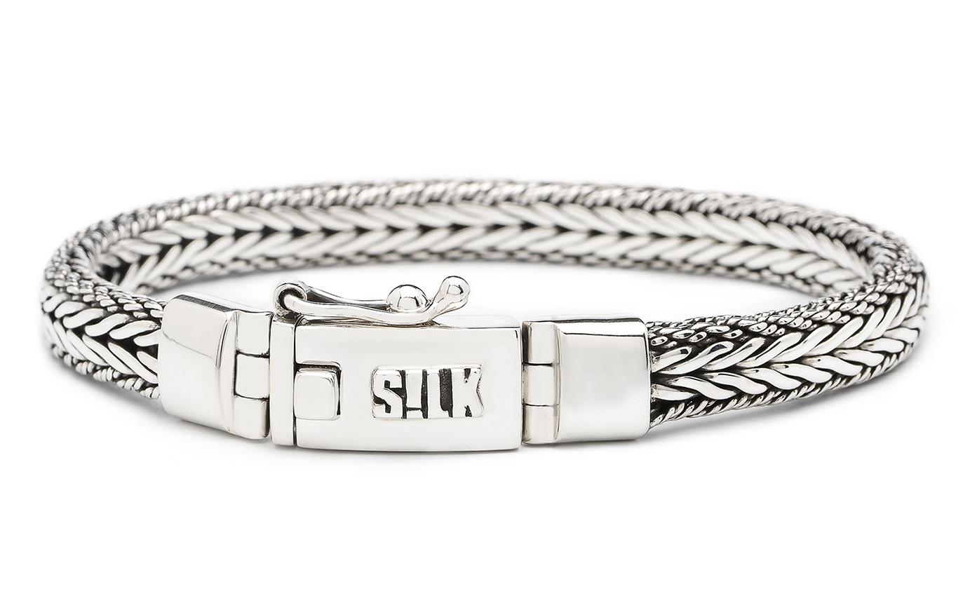 SILK Jewellery Armband zilver 'Shiva' 19 cm 322
