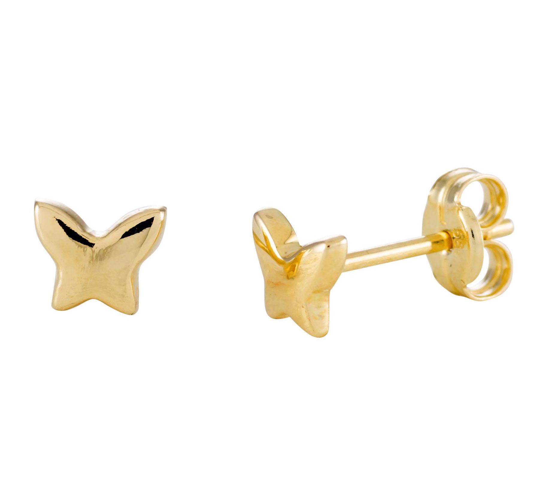 Glow Gouden Oorbellen 'Vlinder' 206.0452.00