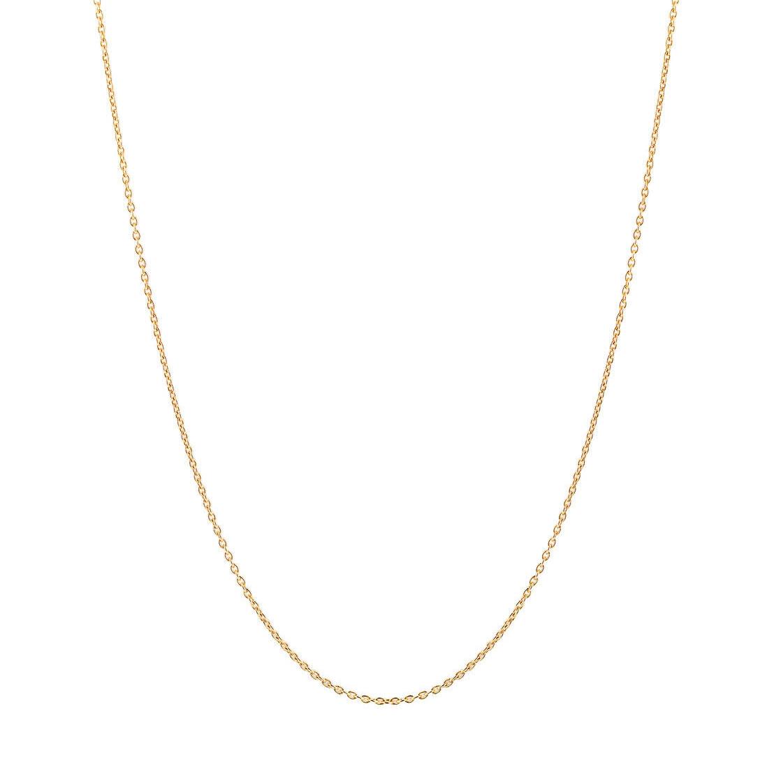 TI SENTO-Milano 3933SY Ketting zilver goudkleurig 90 cm