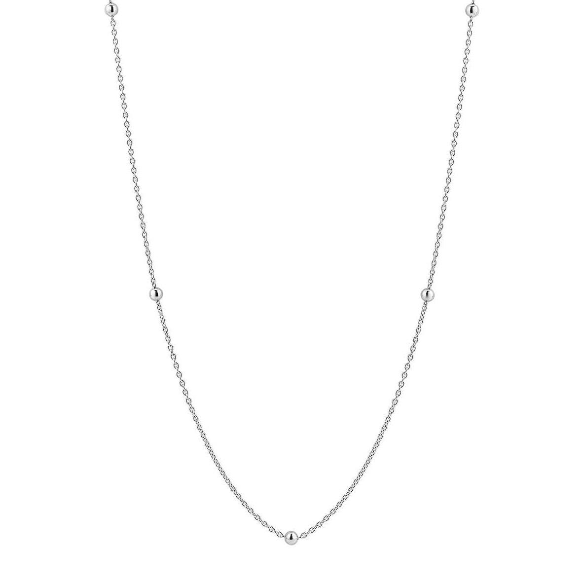 TI SENTO-Milano 3934SI Ketting zilver 60 cm