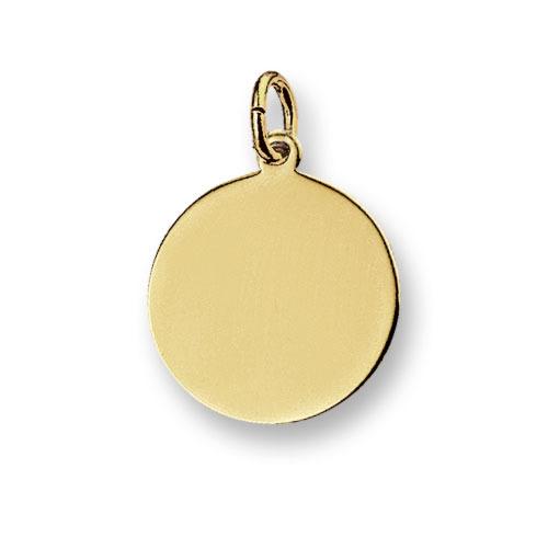 Huiscollectie 4007714 Gouden graveerplaat rond
