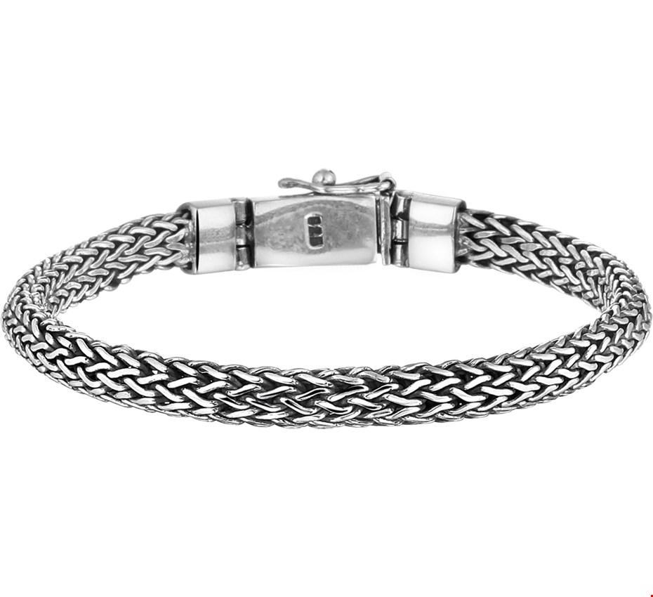 TFT Armband Zilver 6 mm 20 cm