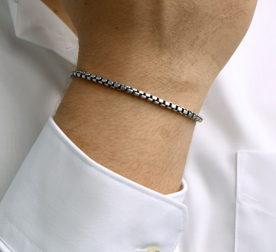 TFT Armband Zilver Oxi Venetiaans 3,5 mm 22 cm